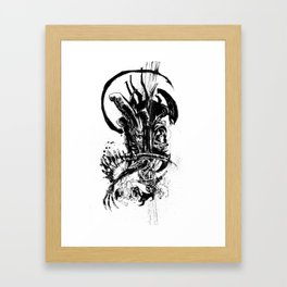 Intergalactic Evil Framed Art Print