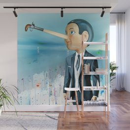 The Lie of Pinocchio Wall Mural