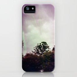 Purple Park iPhone Case