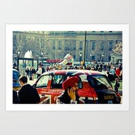 London's Call Art Print