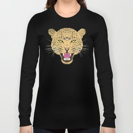 Psychedelic Cheetah Long Sleeve T-shirt