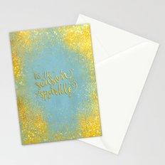 The season sparkle  Stationery Cards