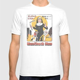 Nunchuck Nun T-shirt