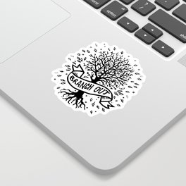 Branch Out Sticker