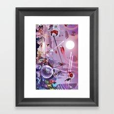 epic wars  Framed Art Print
