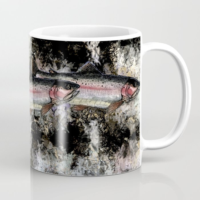Three Rainbows in a Cloud Coffee Mug