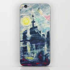 Magical City Evening iPhone & iPod Skin
