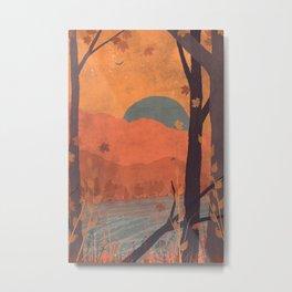 Autumn in the Gorge... Metal Print