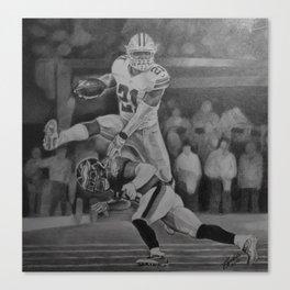 Zeke Elliott Jump #3 Canvas Print