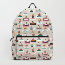 Morning yoga Backpack