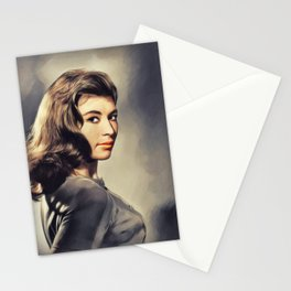 Nanette Newman, Actress Stationery Cards