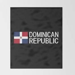 Dominican Republic: Dominican Flag & Dominican Rep Throw Blanket