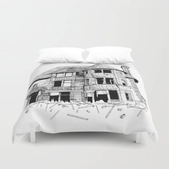 The home in your heart Duvet Cover