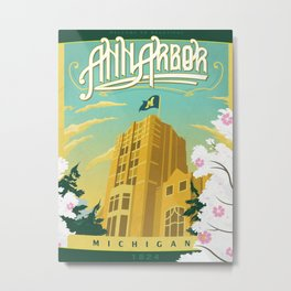 Ann Arbor Union Metal Print