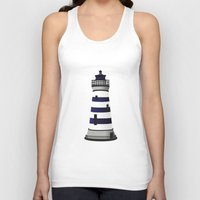 lighthouse Tank Tops featuring LIGHTHOUSE by oslacrimale