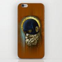 "hercules iPhone & iPod Skins featuring ""Masked Hercules"" by Bryan Keith Lanier"