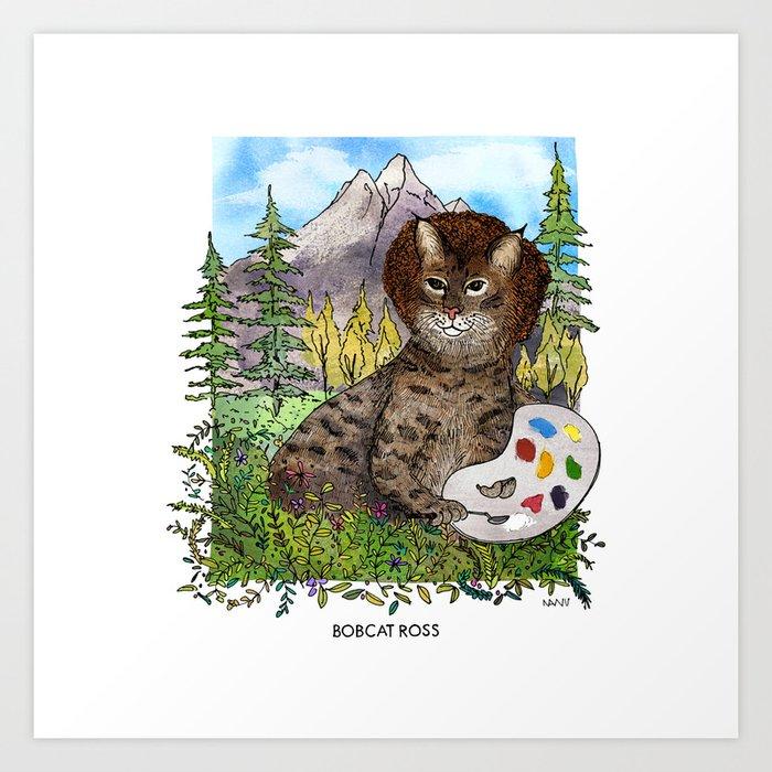 Bobcat Ross Kunstdrucke