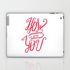 Small talk Laptop & iPad Skin