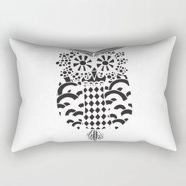 Polkadot owl Rectangular Pillow