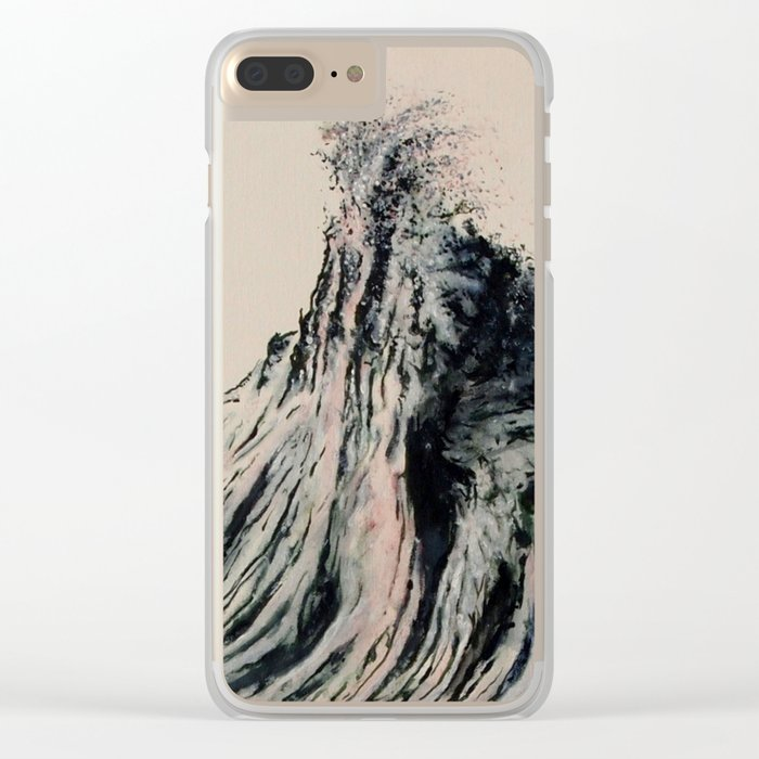 The WAVE #2 Clear iPhone Case