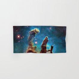Eagle Nebula's Pillars Hand & Bath Towel