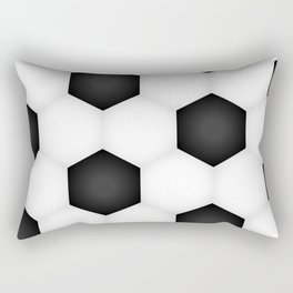Soccer (Fooball) Ball Rectangular Pillow