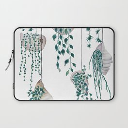 hanging plant in seashell Laptop Sleeve