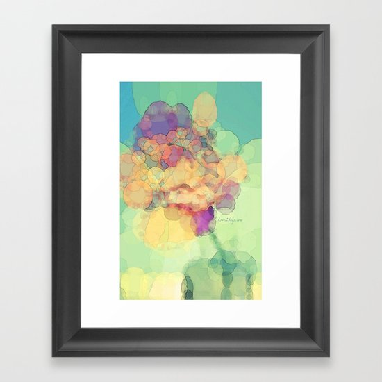 A Rose to Remember Framed Art Print