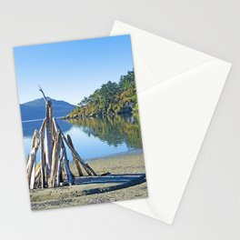 LATE SUMMER ON CRESCENT BEACH ORCAS ISLAND Stationery Cards