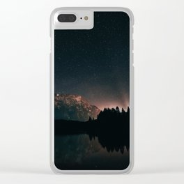 Starry nightlights Clear iPhone Case