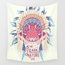 Learn from Nature Wall Tapestry