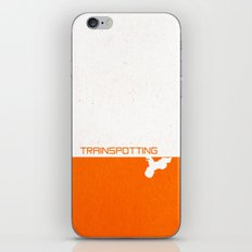Trainspotting Minimalist iPhone & iPod Skin