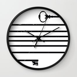 (Very) Long Key Wall Clock