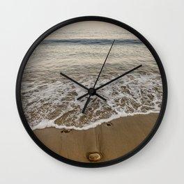 Sunset at Pebble Beach 7-18-18 Wall Clock