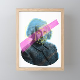 Einstein! Framed Mini Art Print