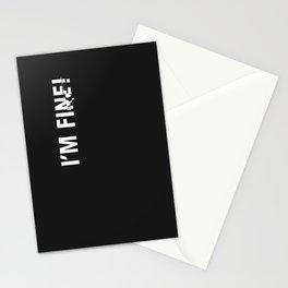 i'm fine. Stationery Cards