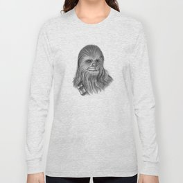 Wookiee Chewbacca Long Sleeve T-shirt