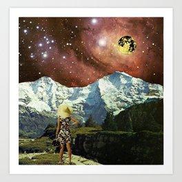 Optoku Valley Art Print