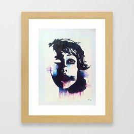 Negative>Positive Framed Art Print