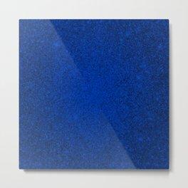 Tanzanite Blue Sparkling Jewels Pattern Metal Print