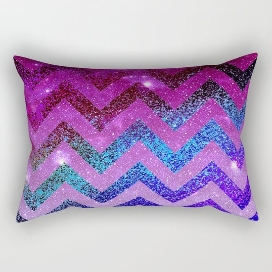 Galaxy Chevron Rectangular Pillow