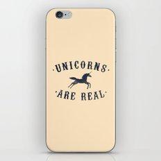 Unicorns Are Real II iPhone & iPod Skin