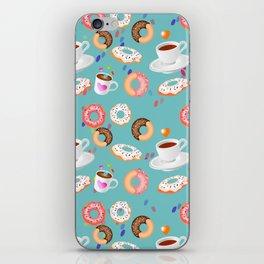 Coffee and Doughnuts iPhone Skin