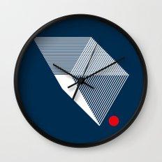 V like V Wall Clock
