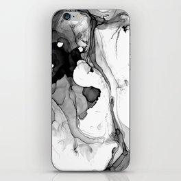 Soft Black Marble iPhone Skin