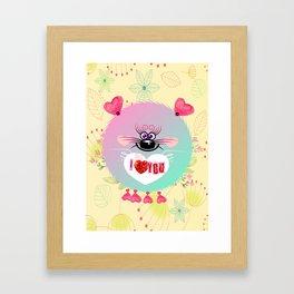 Super Cute Sweety Framed Art Print