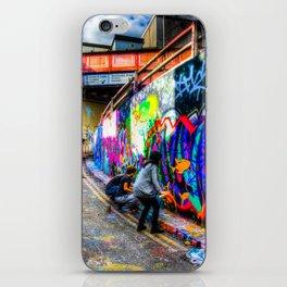 Leake Street Graffiti Artists iPhone Skin