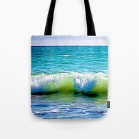sublime Tote Bags featuring SubLime by kitaSaurus