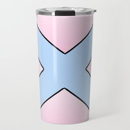 Saint andrew's cross 3 Travel Mug