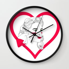 ALL OF YOU ARE GOING TO DIE Wall Clock